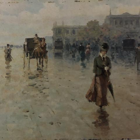 Street Scene by Michele Catti