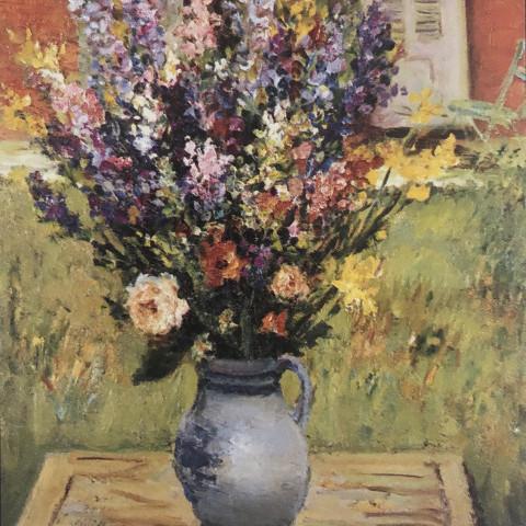 Floral Still Life by Marcel Dyf