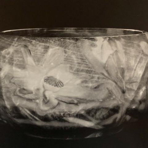 Émile Gallé - Marquetrie de Verre Bowl