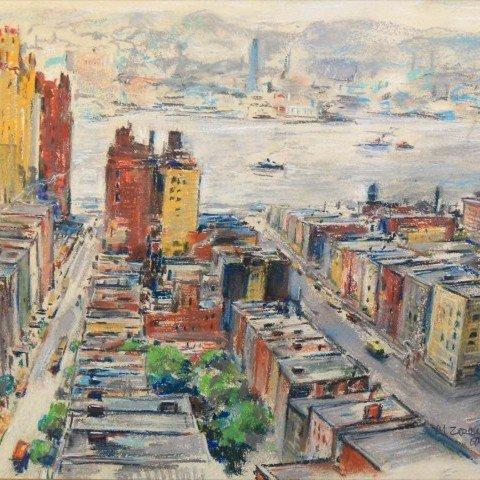 Michael Zelenko - Hudson River from New York