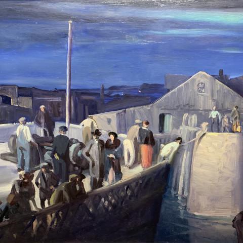 Midnight Landing by Frank Nelson Wilcox