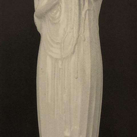 Alfonso Iannelli - Tall Glazed Pottery Figure of a Goddess
