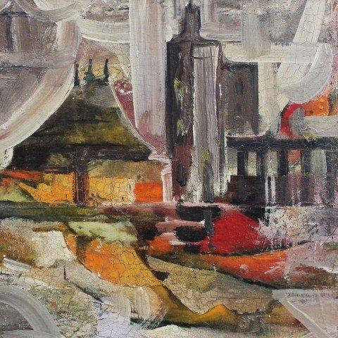 Janet Robson Kennedy - Abstract Interior Scene