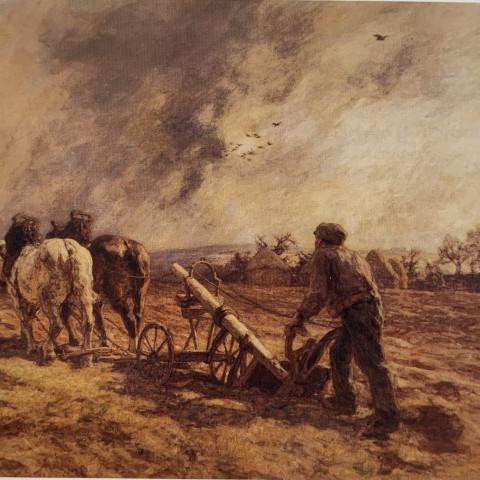 Léon-Augustin Lhermitte - The Ploughman, 1911