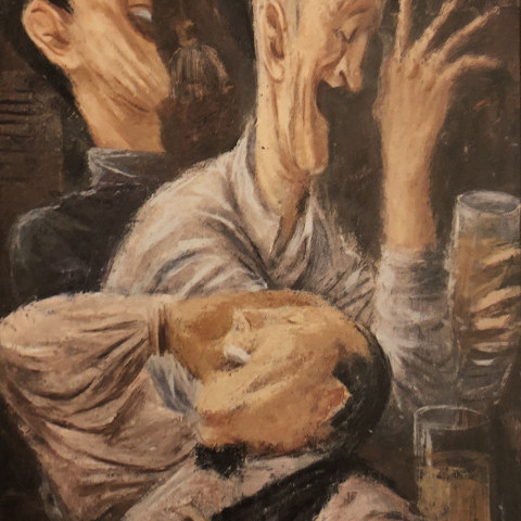 The Drinkers by Fletcher Martin