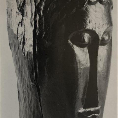 Tête de jeune fille by Amadeo Modigliani