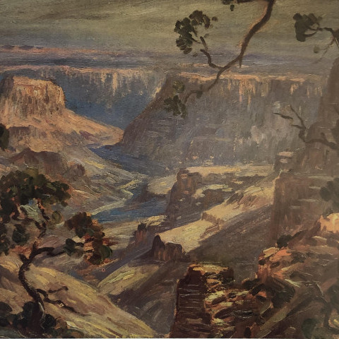 Edward Henry Potthast - The Grand Canyon