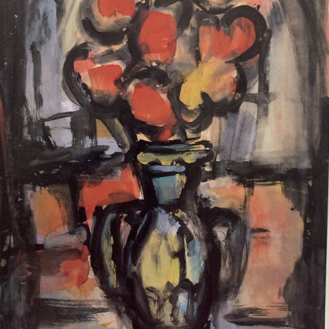 Georges Rouault - Still Life with Vase of Flowers
