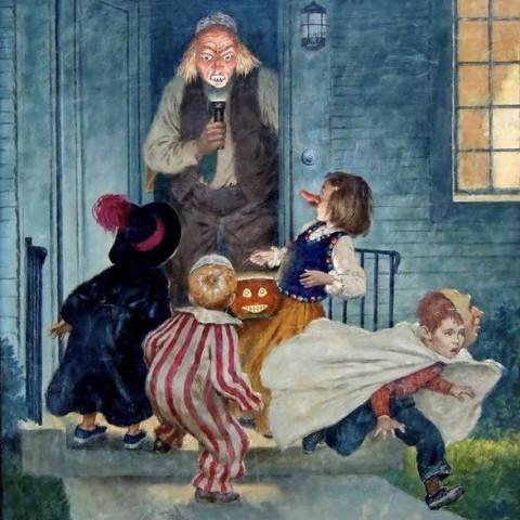 Amos Sewell - Halloween