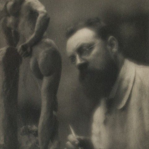Henri Matisse in His Studio by Edward Steichen