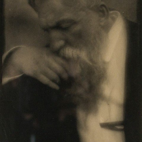 Portrait of Auguste Rodin by Edward Steichen