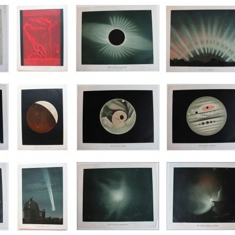 A Rare Complete Set of Trouvelot Astronomical Drawings