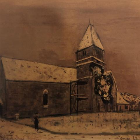 Maurice (Valadon) Utrillo - L'Eglise de Droué, 1936