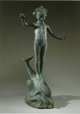 Nymph Riding a Dolphin by Bessie Onahotema Potter Vonnoh