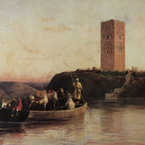 The Abandoned Tower by Edwin Lord Weeks