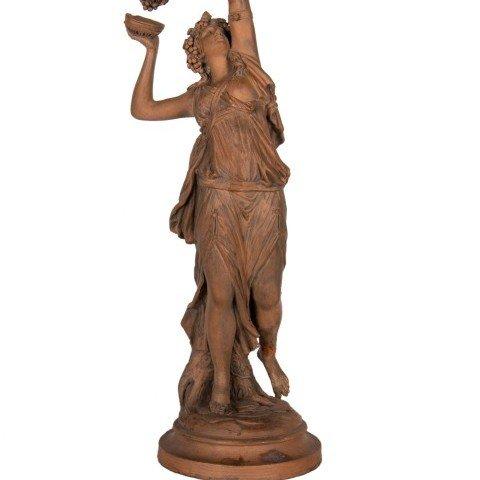 Figurative Terrachotta Sculpture: