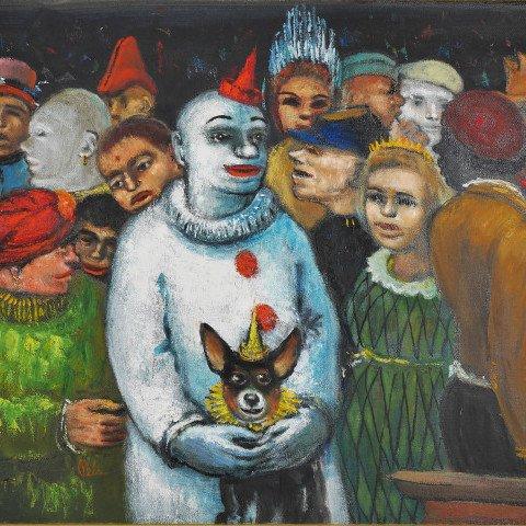 Circus Family by Albert Pels