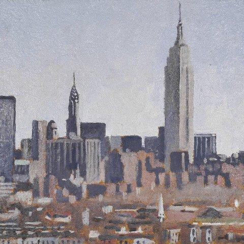 Midtown Skyline by Andrew Lenaghan