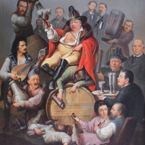 B. Curn - Bawdy German Satire - 1876