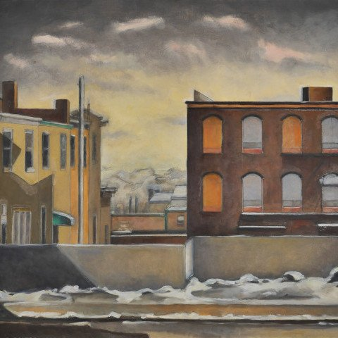Manayunk Houses  by Babette Martino