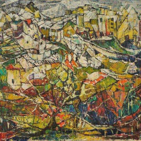 Abu Isnani (Galilee) by Ruth Bamberger