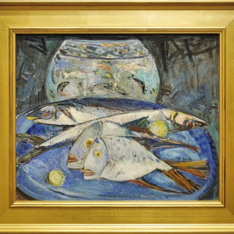 Still Life with Fish #278 by Michael Baxte