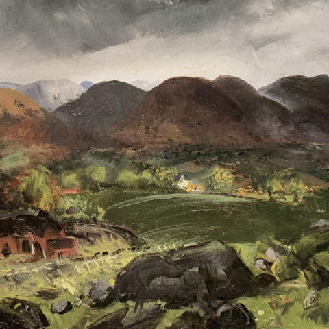 Bleak Hills by George Bellows