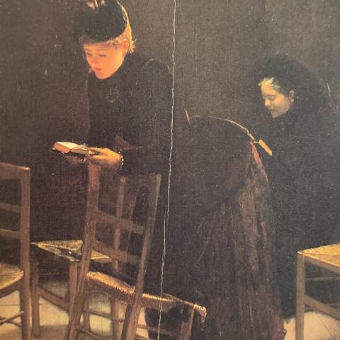 Femme en Prière by Jean Béraud