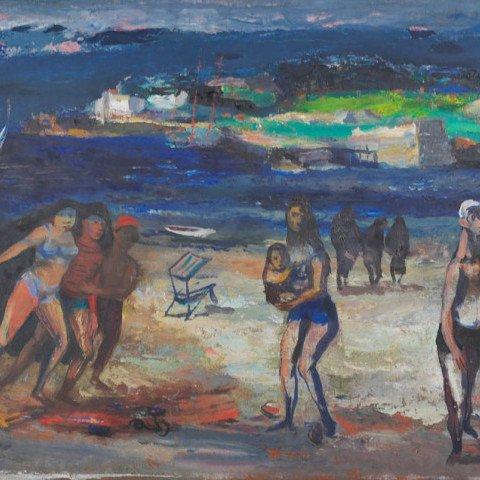 The Beach by Louis Bosa