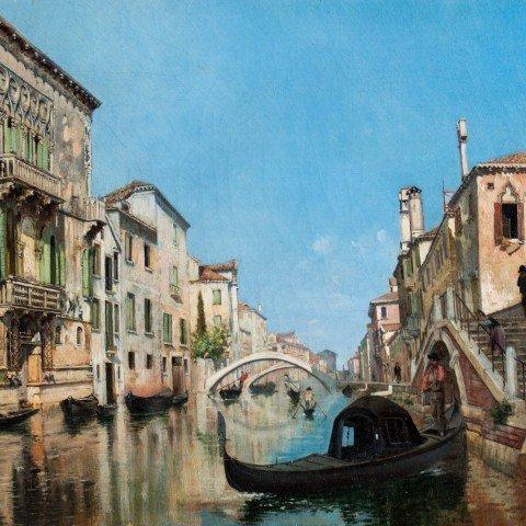 François Brunery - Venetian Canal