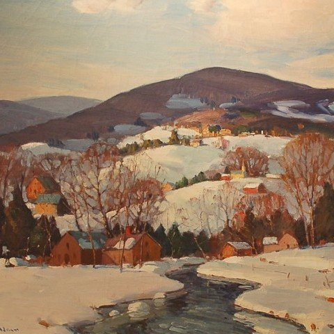 Winter Landscape, New England