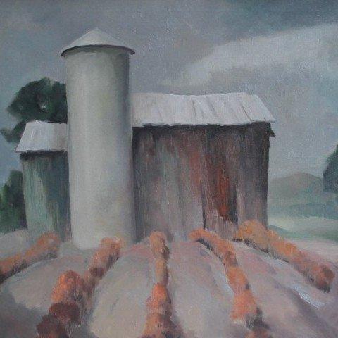Barn and Furrows