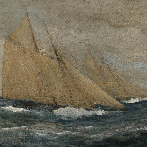 Racing in Heavy Weather by Carlton Theodore Chapman