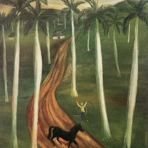 Mario Carreño - The Runaway on the Plantation, 1941