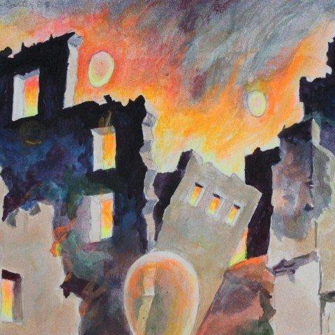 Apocalyptic Scene