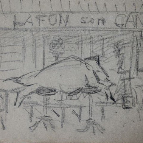 Study for Lafonson's Pride