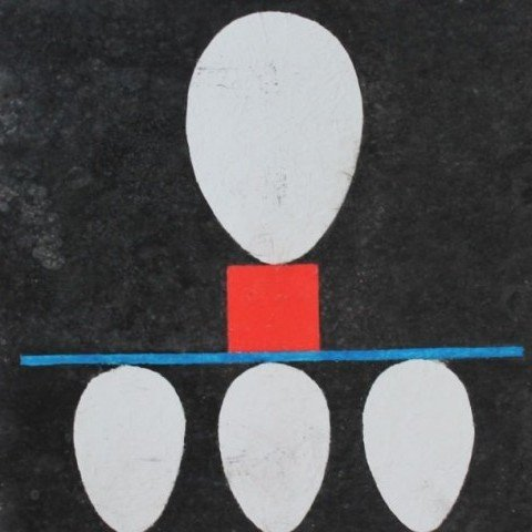 Geometric Composition with Egg Forms
