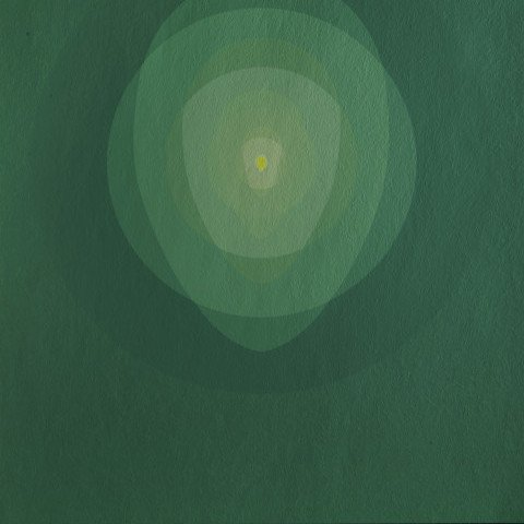 Abstract Silkscreen on Scintilla Print: