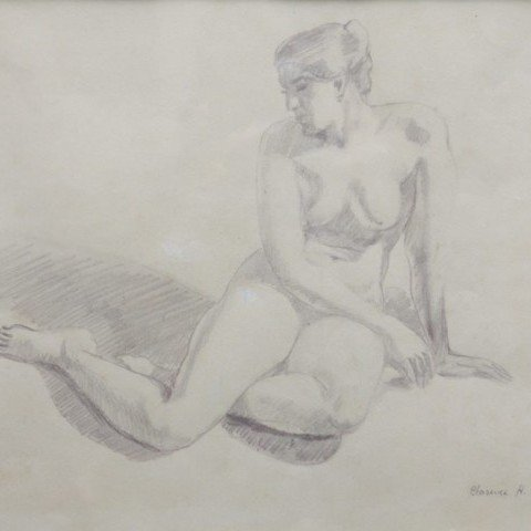 Seated Nude No. 2