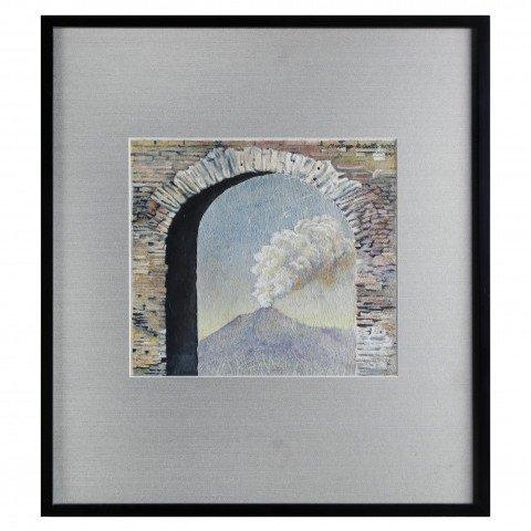 Volcano and arch, Taormina