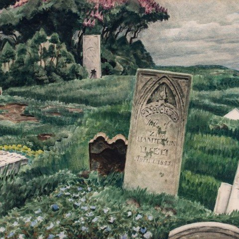 Charles Burchfield - In Memoriam