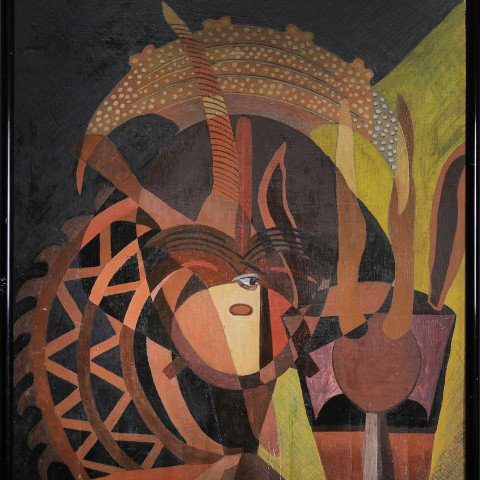 Meditation on African Sculpture by Charles Elmer Harris (Beni E. Kosh)