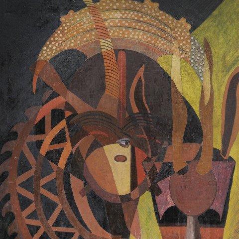 Meditation on African Sculpture by Beni E. Kosh (Charles Elmer Harris)