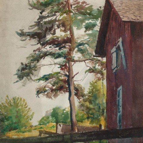 Clark's Barn, Brecksville, Ohio