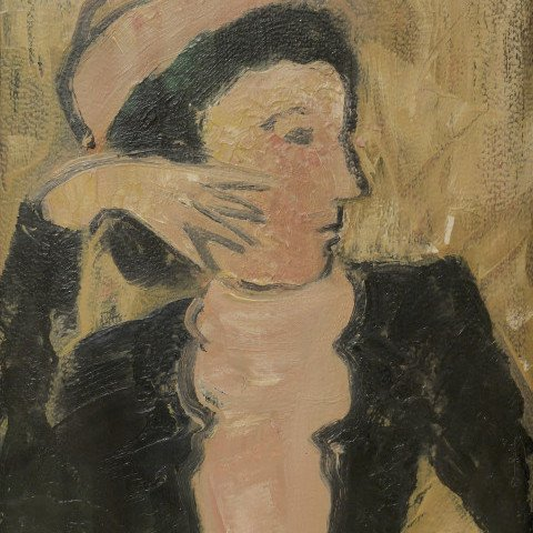Constant Permeke - Portrait of Lady