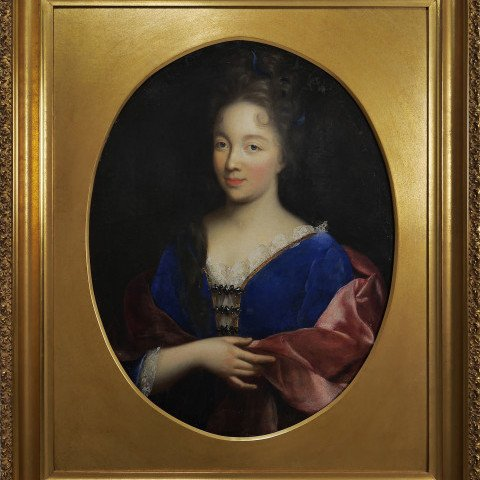 Portrait of a Young Woman by 17th Century British School