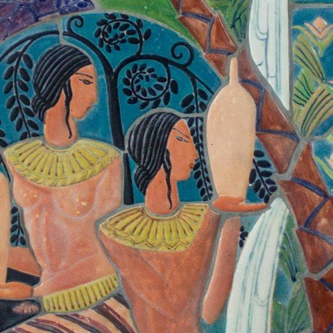 Elsa Vick Shaw - Egyptian Maidens