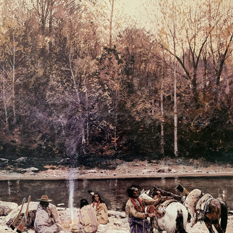 Henry Farny - The Hunting Party, 1901