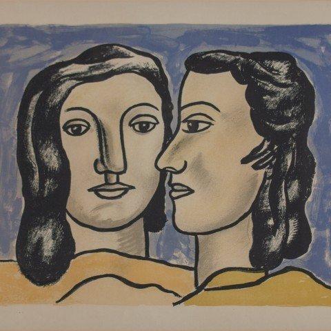 Fernand Léger - Les Deux Visages
