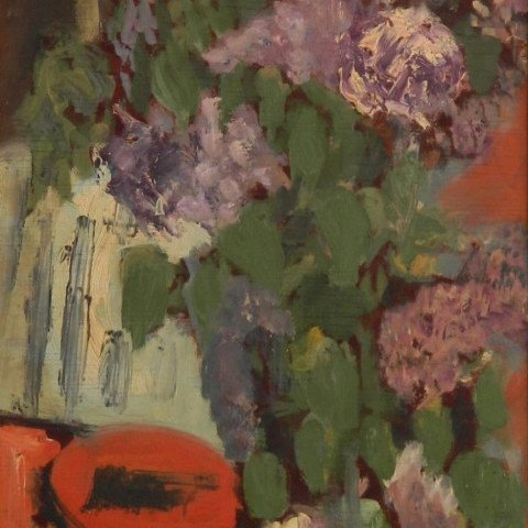 Jane Freilicher - Floral Still Life